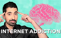 Sorry, you are addicted to the internet